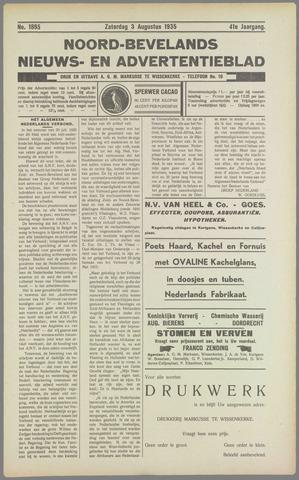 Noord-Bevelands Nieuws- en advertentieblad 1935-08-03