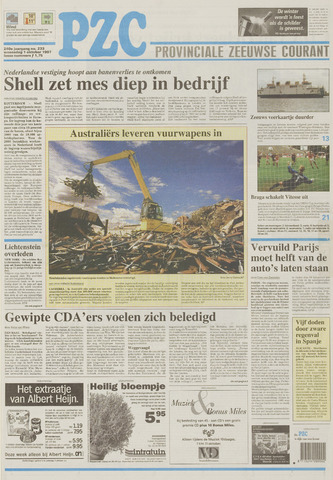 Provinciale Zeeuwse Courant 1997-10-01