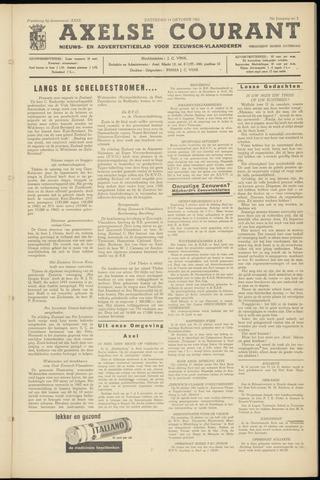 Axelsche Courant 1961-10-14