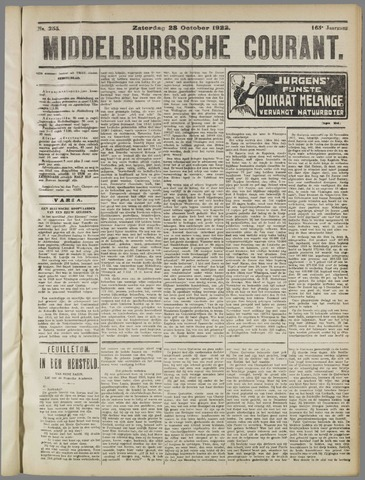 Middelburgsche Courant 1922-10-28
