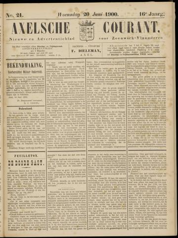 Axelsche Courant 1900-06-20