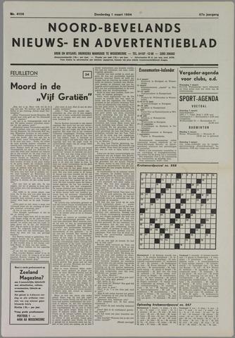 Noord-Bevelands Nieuws- en advertentieblad 1984-03-01