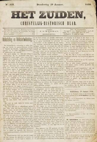 Het Zuiden, Christelijk-historisch blad 1880-01-29