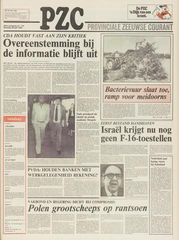 Provinciale Zeeuwse Courant 1981-07-28