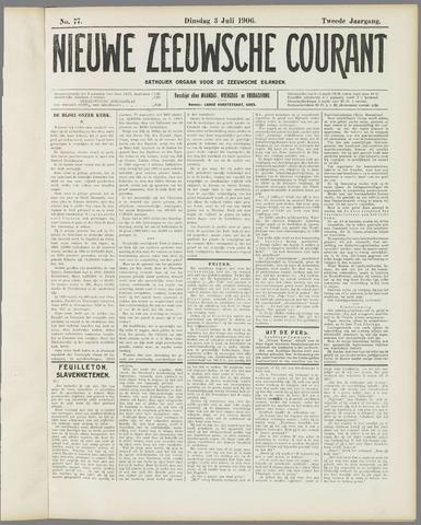 Nieuwe Zeeuwsche Courant 1906-07-03