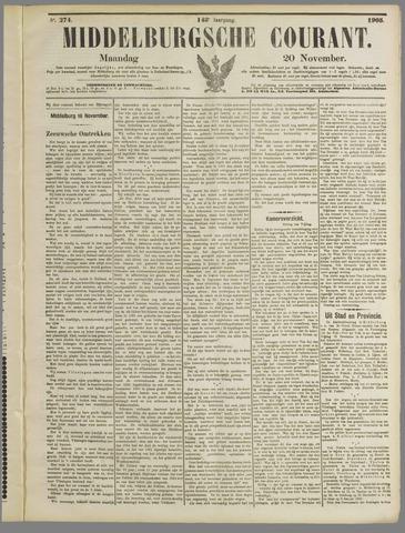 Middelburgsche Courant 1905-11-20