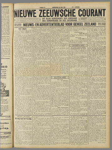 Nieuwe Zeeuwsche Courant 1931-05-28