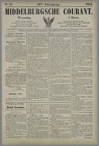 Middelburgsche Courant 1884-03-05