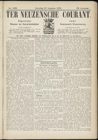 Ter Neuzensche Courant. Algemeen Nieuws- en Advertentieblad voor Zeeuwsch-Vlaanderen / Neuzensche Courant ... (idem) / (Algemeen) nieuws en advertentieblad voor Zeeuwsch-Vlaanderen 1879-08-30