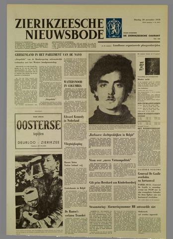 Zierikzeesche Nieuwsbode 1970-11-10