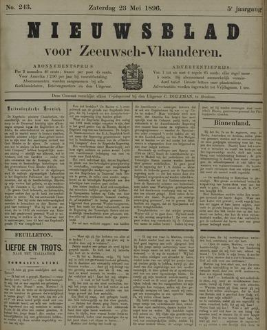 Nieuwsblad voor Zeeuwsch-Vlaanderen 1896-05-23