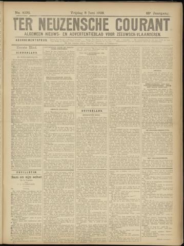 Ter Neuzensche Courant. Algemeen Nieuws- en Advertentieblad voor Zeeuwsch-Vlaanderen / Neuzensche Courant ... (idem) / (Algemeen) nieuws en advertentieblad voor Zeeuwsch-Vlaanderen 1928-06-08