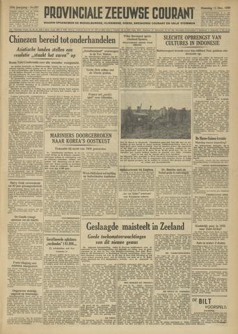 Provinciale Zeeuwse Courant 1950-12-11