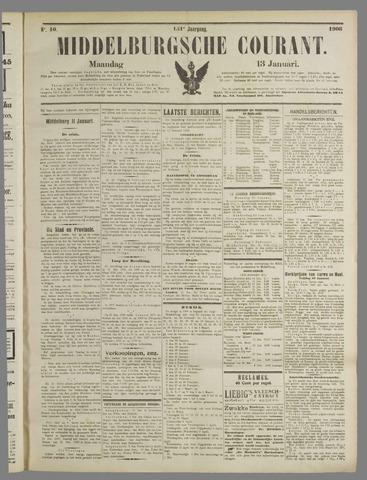 Middelburgsche Courant 1908-01-13