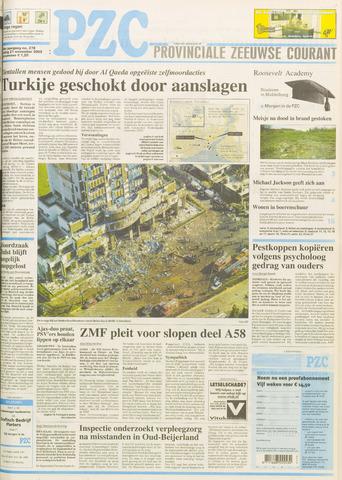 Provinciale Zeeuwse Courant 2003-11-21