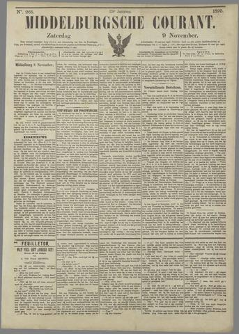 Middelburgsche Courant 1895-11-09