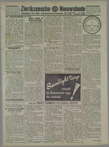 Zierikzeesche Nieuwsbode 1934-11-07