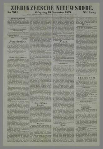 Zierikzeesche Nieuwsbode 1873-11-18