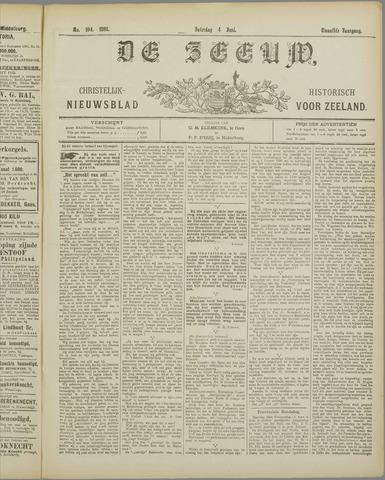 De Zeeuw. Christelijk-historisch nieuwsblad voor Zeeland 1898-06-04