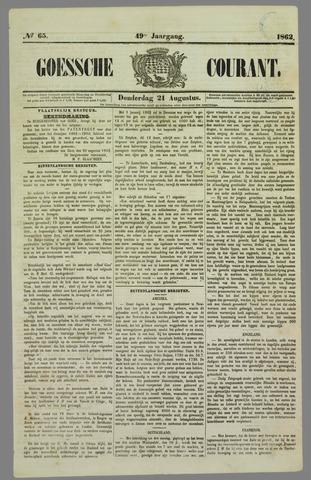 Goessche Courant 1862-08-21