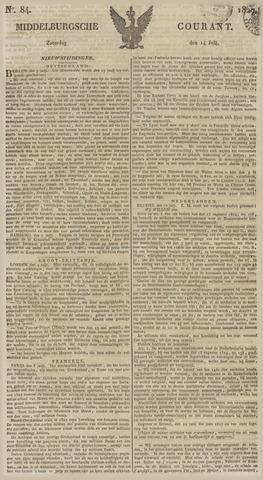 Middelburgsche Courant 1827-07-14