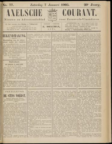 Axelsche Courant 1905-01-07