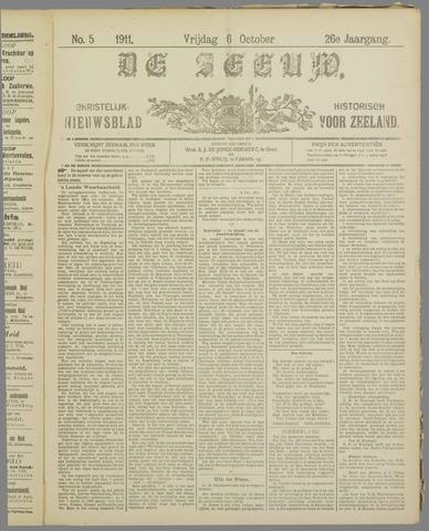 De Zeeuw. Christelijk-historisch nieuwsblad voor Zeeland 1911-10-06