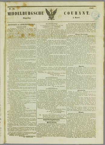 Middelburgsche Courant 1847-03-02