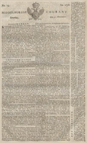 Middelburgsche Courant 1758-12-30