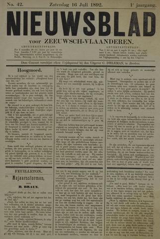 Nieuwsblad voor Zeeuwsch-Vlaanderen 1892-07-16