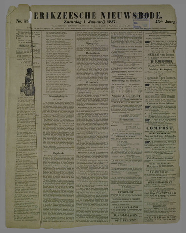 Zierikzeesche Nieuwsbode 1887