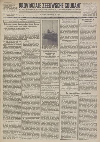 Provinciale Zeeuwse Courant 1941-10-22