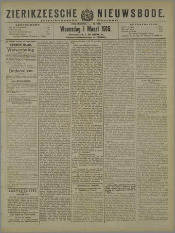 Zierikzeesche Nieuwsbode 1916-03-01