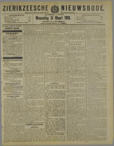 Zierikzeesche Nieuwsbode 1915-03-31