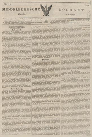 Middelburgsche Courant 1844-10-01