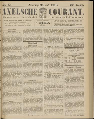 Axelsche Courant 1910-07-23