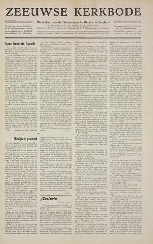 Zeeuwsche kerkbode, weekblad gewijd aan de belangen der gereformeerde kerken/ Zeeuwsch kerkblad 1957-09-06