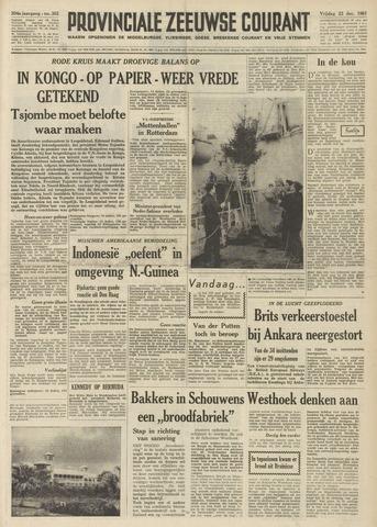 Provinciale Zeeuwse Courant 1961-12-22
