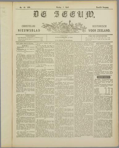 De Zeeuw. Christelijk-historisch nieuwsblad voor Zeeland 1898-04-05