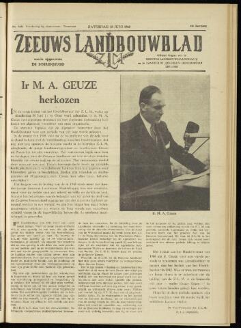 Zeeuwsch landbouwblad ... ZLM land- en tuinbouwblad 1960-06-18
