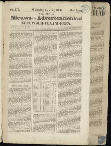 Ter Neuzensche Courant. Algemeen Nieuws- en Advertentieblad voor Zeeuwsch-Vlaanderen / Neuzensche Courant ... (idem) / (Algemeen) nieuws en advertentieblad voor Zeeuwsch-Vlaanderen 1866-06-20