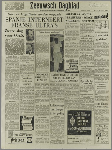 Zeeuwsch Dagblad 1961-10-09