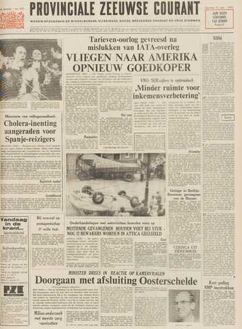 Provinciale Zeeuwse Courant 1971-09-11