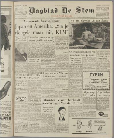 de Stem 1962-02-10