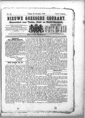 Nieuwe Goessche Courant 1869-11-26