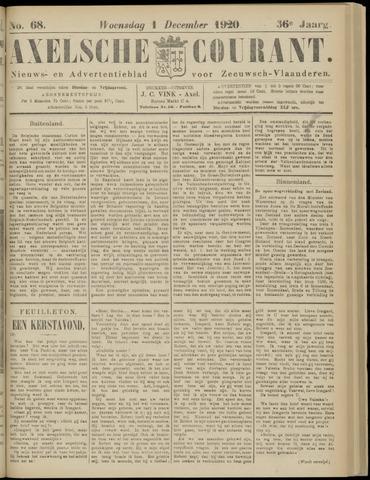Axelsche Courant 1920-12-01