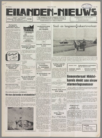 Eilanden-nieuws. Christelijk streekblad op gereformeerde grondslag 1978-07-28