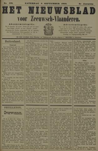 Nieuwsblad voor Zeeuwsch-Vlaanderen 1900-09-08