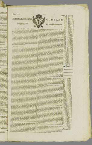 Middelburgsche Courant 1809-09-19