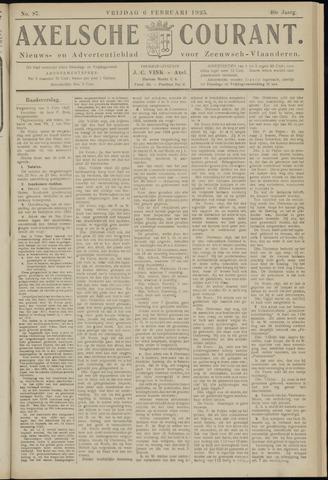 Axelsche Courant 1925-02-06